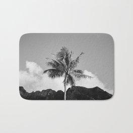 Monochrome Hawaii II Bath Mat