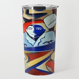 The Blue Piano Travel Mug