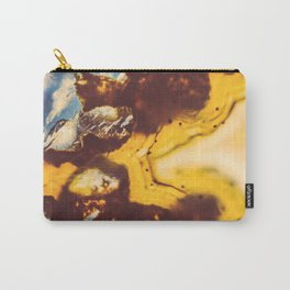 Amber Honey Agate Carry-All Pouch