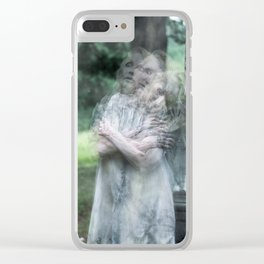 """VAMPLIFIED """"Possessed"""" Clear iPhone Case"""