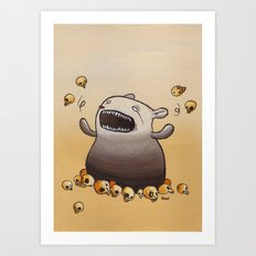 Mr. Friendly Art Print