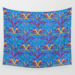Tribal Pattern 3 Wall Tapestry