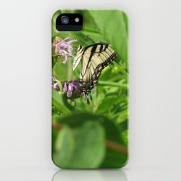 Tiger Swallowtail iPhone Case