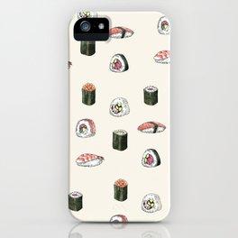 Sushi Pattern iPhone Case