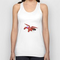big hero 6 Tank Tops featuring Baymax Big Hero 6 by ZariusArts