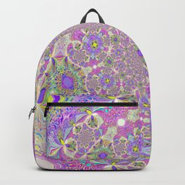 Pretty Lavender Garden Backpack