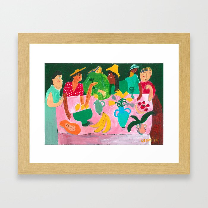 The Last Brunch Framed Art Print