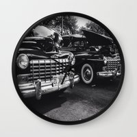 old school Wall Clocks featuring Old School by Xneon