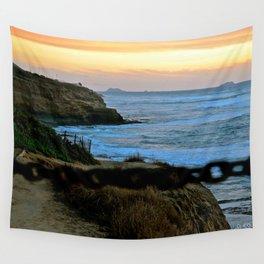 Private Access - Ocean Beach, California Wall Tapestry