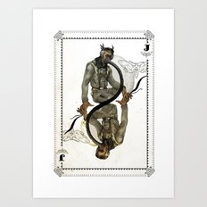 Jack of Wings Art Print