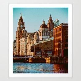 Albert Dock, Liverpool Art Print