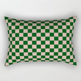 Forest Check Rectangular Pillow