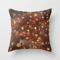 constellation Throw Pillows featuring constellation by davina pallone