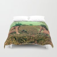 hippie Duvet Covers featuring Hippie Life by sysneye
