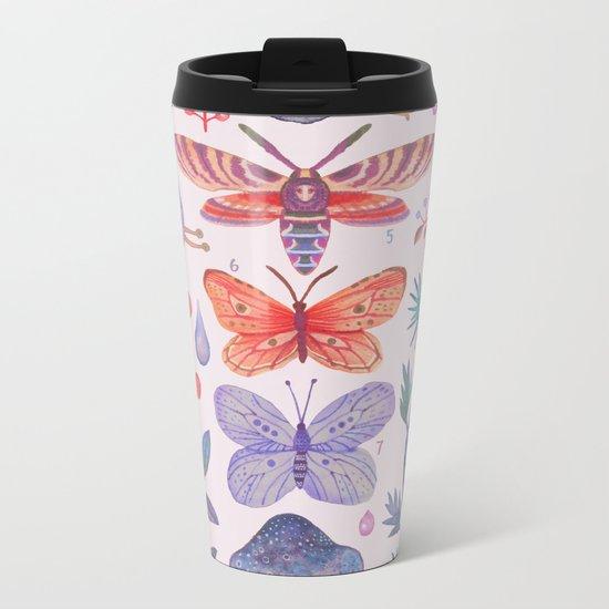 Et coloris natura III Metal Travel Mug