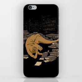 The Book Wyrm iPhone Skin