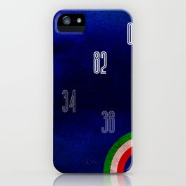 Italy World Cup iPhone Case