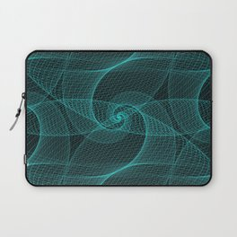 The Great Spiraling Unknown Laptop Sleeve