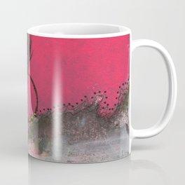 Pink and Green Sassy Girl Coffee Mug