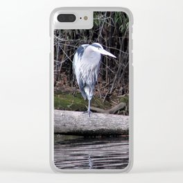 Hangin' Around Clear iPhone Case