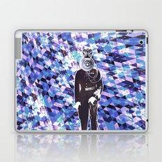 General Gears on blue Laptop & iPad Skin