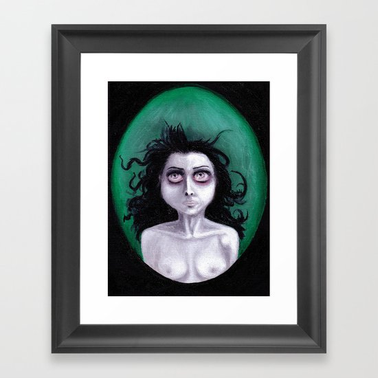BREATHE UNDERWATER Framed Art Print