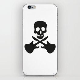 Guitar Skull iPhone Skin