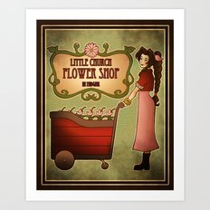 Midgar Flower Shop Art Print