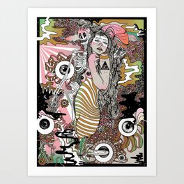 Eye Tried Art Print