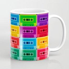 Neon Cassettes Coffee Mug