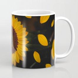 Sunflower yellow green Coffee Mug