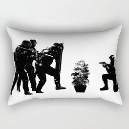 Police brutality coming up Rectangular Pillow