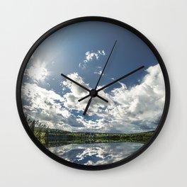 Lake Lust Wall Clock