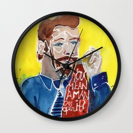 So Easy, A Man Can Do It. Wall Clock