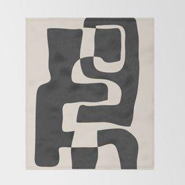 Abstract Art 55 Throw Blanket