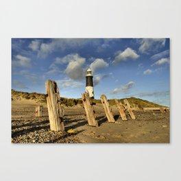 Spurn Coast Canvas Print