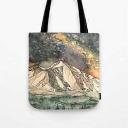 Mount Sopris and the Galaxy Tote Bag