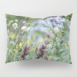 Wildflowers on the Mountain Pillow Sham