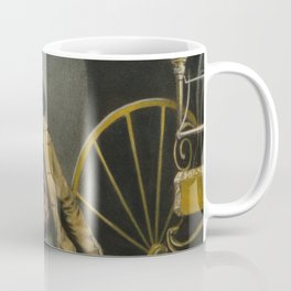 Historical American Firefighter Illustration (1858) Coffee Mug