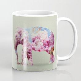 Cherry blossom Elephant Coffee Mug
