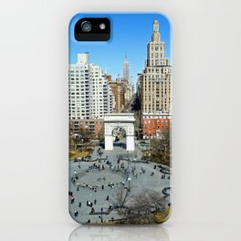 Washington Square Park, NYC iPhone Case