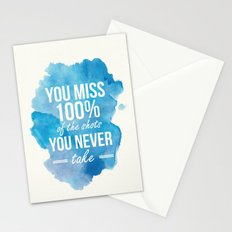 Shots You Take Stationery Cards