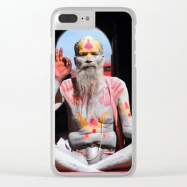 Old Hindu Clear iPhone Case