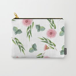 EUCALYPTUS LEAVES WATERCOLOR Carry-All Pouch