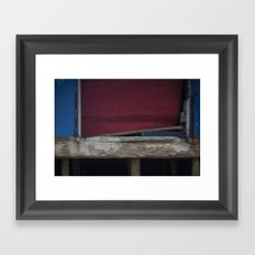 Red Gate, After Sandy Framed Art Print