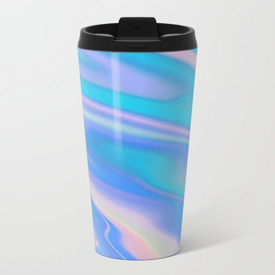 Iridescent Metal Travel Mug