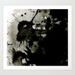 Just for the love of ink. Art Print