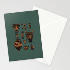Ancient Greek Pottery Stationery Cards