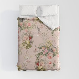 Pardon Me There's a Bunny in Your Tea Duvet Cover
