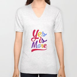 Yes is more Unisex V-Neck